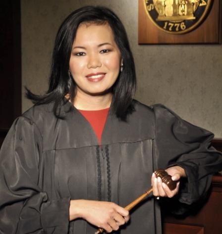 Georgia Appeals Court Judge Carla Wong McMillian.