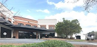 101 Yorktown Drive, Fayetteville is the location of Piedmont Health Care's drive-thru coronavirus test site. Photo/Ben Nelms.