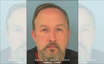 Robert L. Lezon. Photo/Fayette County Jail.