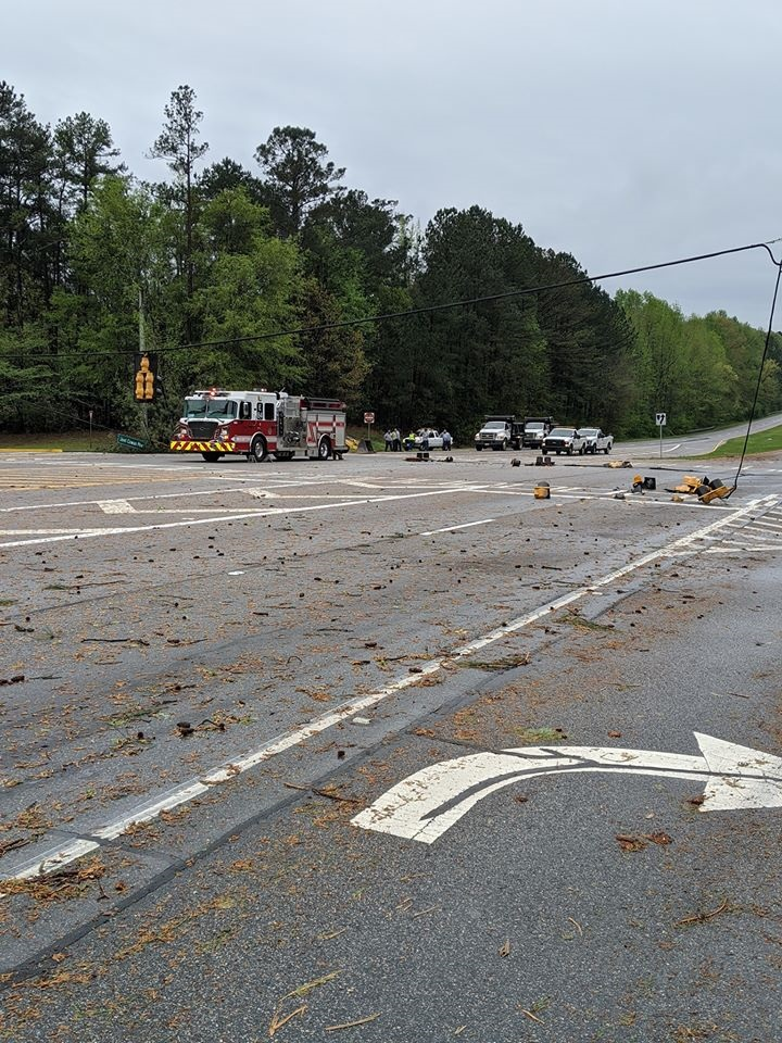 High Winds Down Power Lines In Ptc Fayetteville The Citizen