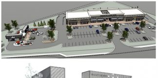 Renderings show proposed Shoppes at New Hope.
