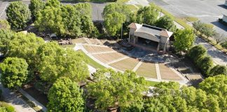 Upgrades to the Brightmoor-Southern Ground Amphitheater in Fayetteville will come in two phases in time for the 2021 concert series. Photo. City of Fayetteville.