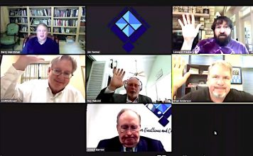 The Fayette County Board of Education meets via remote video for the June 7 called meeting.