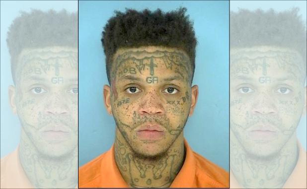 Dikim Bailey. Photo/Fayette County Jail.