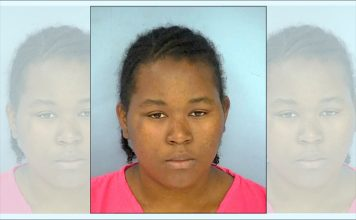Alisha K. Pompey. Photo/Fayette County Jail.