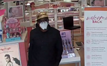 Seen — or smelled — this guy around Peachtree City? If so, give the Peachtree City cops a call. He stole more than $900 in fragrances from ULTA Beauty on Ga. Highway 54 West. Photo/Peachtree City Police Department.
