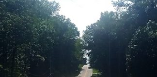 The detour is finally ended, and Dogwood Trail is open again. Photo/Fayette County.