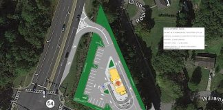 Peachtree City planning staff recommend denial of this rezoning request for a Popeyes Louisiana Kitchen restaurant. Photo/Peachtree City Planning Commission.