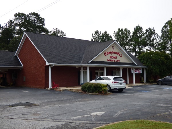The building housing Campanile's on Ga. Highway 54 in Peachtree City will be replaced with a new building totaling 6,900 sq. ft. Photo/Ben Nelms.