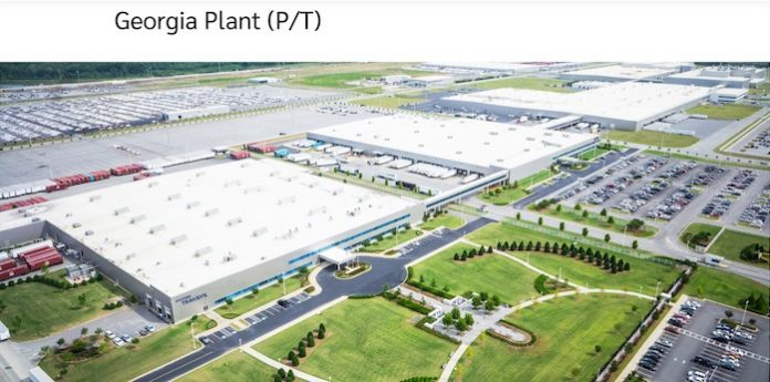 From the Hyundai website, this is a graphic showing the future plant near LaGrange.