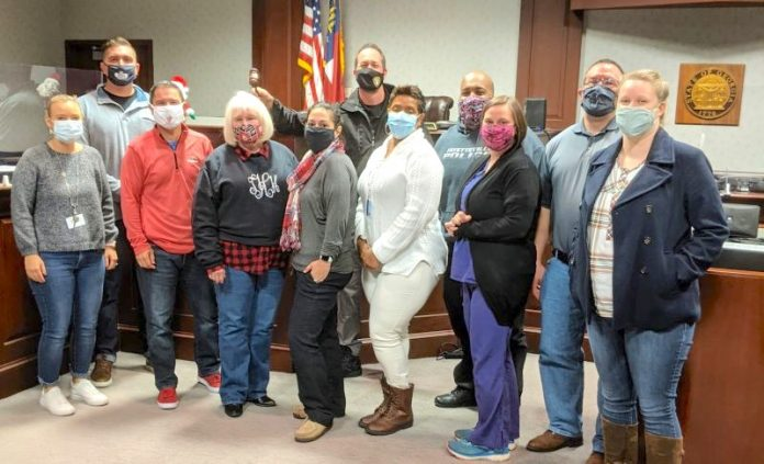 Staff members of the Fayette County Accountability Courts stand ready to help. Photo/Submitted.