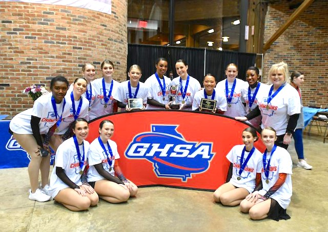 <b>The Starr's Mill Pantherettes won the 2021 Dance State Invitational and also placed 1st in Jazz and Pom.</b>