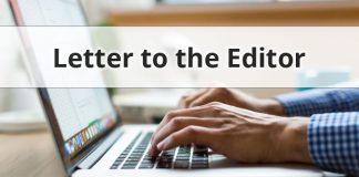 letter header hands typing