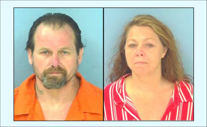 Chris Wooten (L) and Jamie A. Palmer. Photos/Fayette County Jail.
