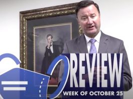 Fayette County School Superintendent Dr. Jonathan Patterson in a FaceBook video Sept. 17, 2021.