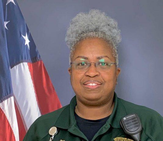 Detention Officer Lisa Johnson of the Fayette County Sheriff's Department.