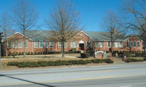 <b>For the past 25 years, the now-old Fayetteville City Hall. File photo.</b>