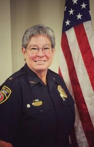 <b>Peachtree City Police Chief Janet Moon.</b>