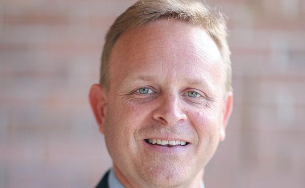 Tyrone Mayor Eric Dial.